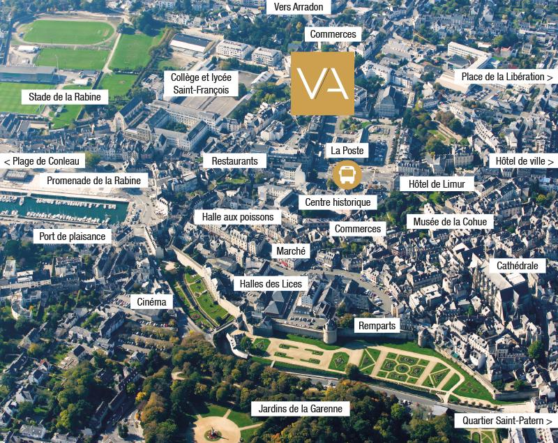 Localiser la résidence Villa Autissier